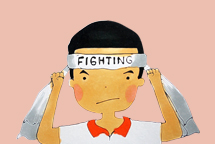 fighting